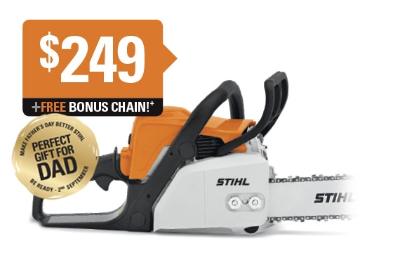 Receive a FREE BONUS chain with any MS 170 or MS 180 purchase!
