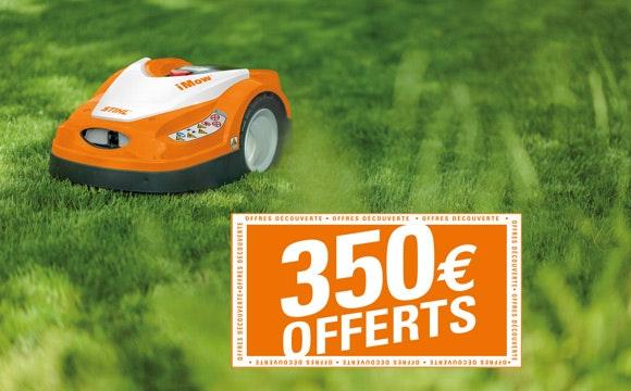 Jusqu'à 350 € Offerts