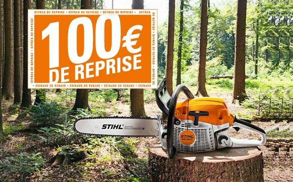 100€ de reprise